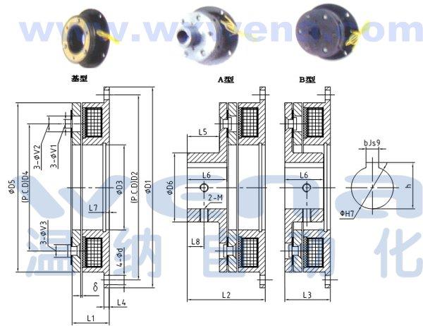 dzd2-10单片电磁制动器